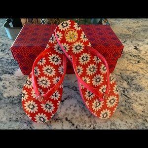 Tory Burch red flip-flop